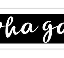 Alpha Gam Sticker