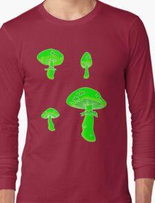 glowing fungus Long Sleeve T-Shirt