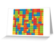 Lego Pattern Greeting Card