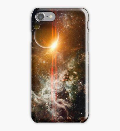 3d Rendered Space Scene iPhone Case/Skin