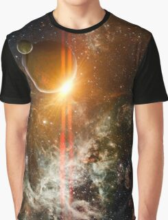 3d Rendered Space Scene Graphic T-Shirt