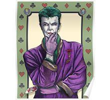 Bowie Joker Poster