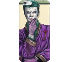Bowie Joker iPhone Case/Skin