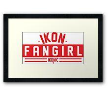 FANGIRL IKON Framed Print