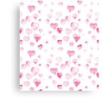 Valentine's sweet heart Canvas Print