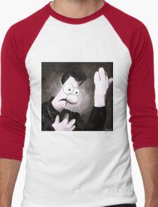 Meemees (Heroes) Men's Baseball ¾ T-Shirt