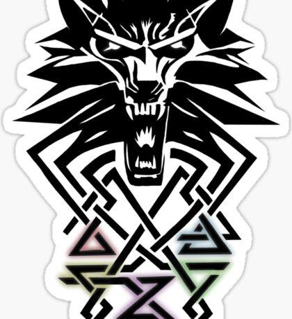 Witcher Medallion Sticker