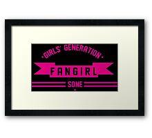 FANGIRL GG Framed Print