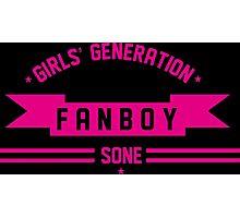 GIRLS GENERATION FANBOY Photographic Print