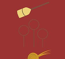 Gryffindor Quidditch Team by memorytree