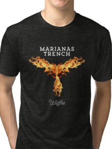 marianas trench wildfire Tri-blend T-Shirt