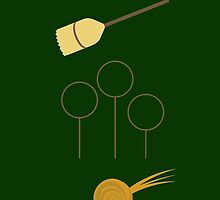 Slytherin Quidditch Team  by memorytree