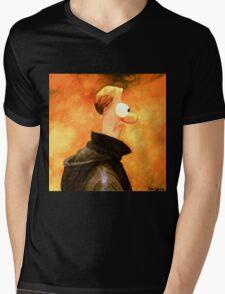 Mee (Low) Mens V-Neck T-Shirt