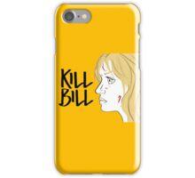 Kill Bill (Transparent) iPhone Case/Skin