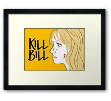 Kill Bill (Transparent) Framed Print