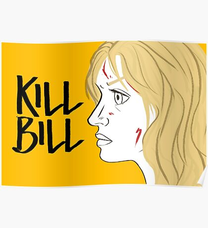 Kill Bill (Transparent) Poster