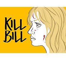 Kill Bill (Transparent) Photographic Print
