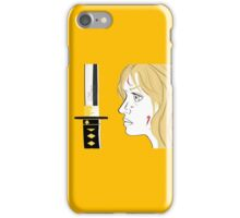 Kill Bill Sword (Transparent) iPhone Case/Skin