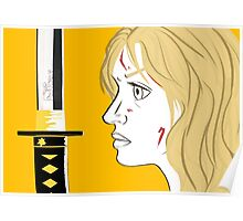 Kill Bill Sword (Transparent) Poster