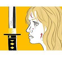 Kill Bill Sword (Transparent) Photographic Print