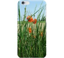 Poppies Bloomimg Field Edge iPhone Case/Skin