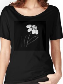 pebble flower  Women's Relaxed Fit T-Shirt