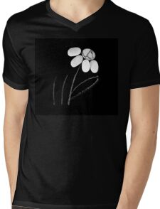 pebble flower  Mens V-Neck T-Shirt