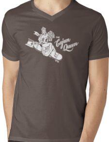 The Cajun Queen Mens V-Neck T-Shirt