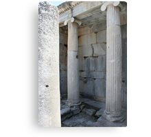 Roman Columns and Fountain Ephesus Turkey Metal Print