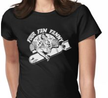 Four Fan Fanny Womens Fitted T-Shirt