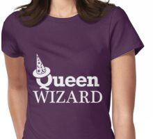 QUEEN WIZARD Womens Fitted T-Shirt