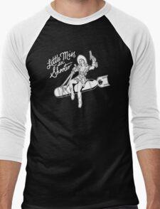 Little Miss Six Shooter Men's Baseball ¾ T-Shirt