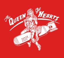 The Queen of Hearts One Piece - Short Sleeve
