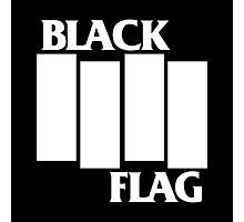 Black Flag Dope Logo In Black Photographic Print