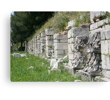 Hellenistic Agora Canvas Print