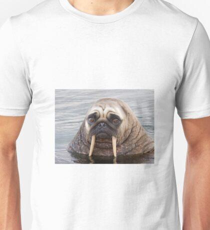 Walrus pug Unisex T-Shirt