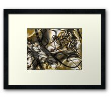 Alzheimer's: The Memory Thief Framed Print