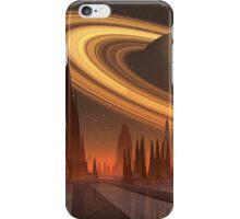 Futuristic Alien City - Computer Artwork iPhone Case/Skin