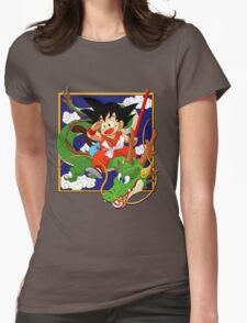 dragon ball Womens Fitted T-Shirt