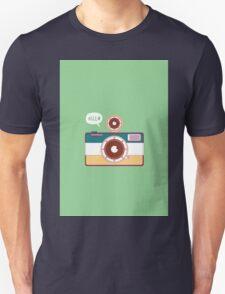 say hello to camera Unisex T-Shirt
