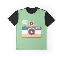 say hello to camera Graphic T-Shirt