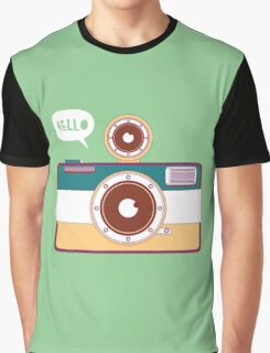 say hello to camera Graphic T-Shirt