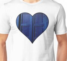 Doctor Who Tardis Heart Unisex T-Shirt