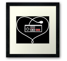 Love NES Framed Print