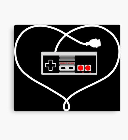 Love NES Canvas Print