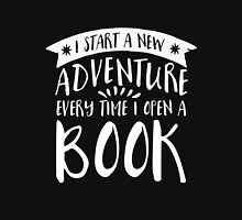 I Start a New Adventure (inverted) Unisex T-Shirt