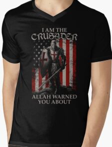 Army Shirt and Hoodie Mens V-Neck T-Shirt