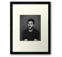 Cool Jamie dornan by bima Framed Print