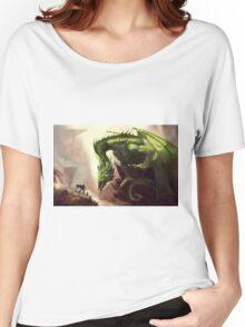 Green Elder Dragon Women's Relaxed Fit T-Shirt