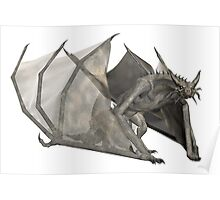 Dragon - 3D rendered fantasy creature Poster